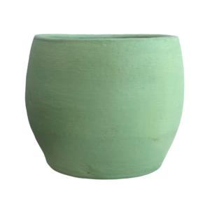 Green Clay Pot
