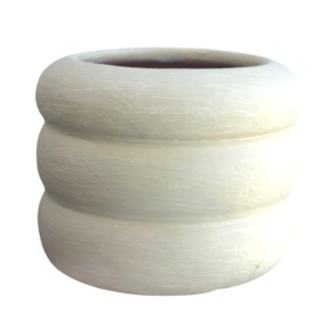 White Clay Pot